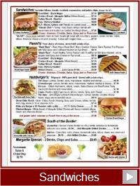 Sandwiches | Route 66 Road Runner Menu