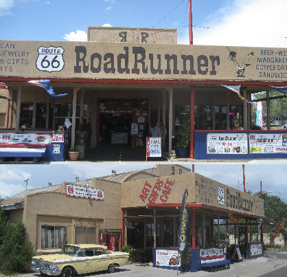 Contact Route 66 Road Runner | Contact Route 66 Road Runner to place an order, leave comments or get directions to our place in Seligman Arizona.